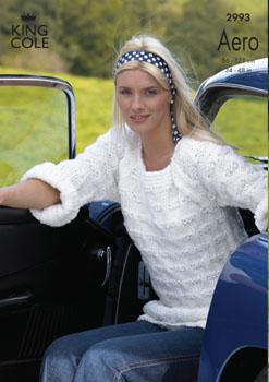2993 Aero - Knitting Pattern Ladies*