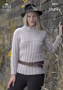 3073 Chunky - Knitting Pattern