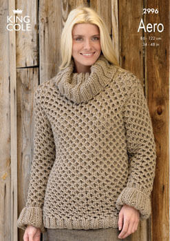 2996 Aero - Knitting Pattern Ladies*