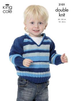 3101 DK - Knitting Pattern