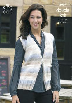3059 DK - Ladie's Knitting Pattern*