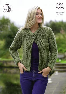 3086 Knitting Pattern - Ladie's Aero*
