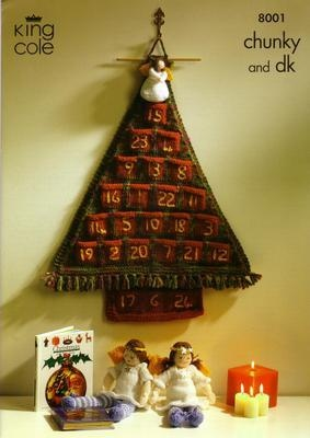 8001 Christmas Pattern - Chunky & DK - Knitting Pattern
