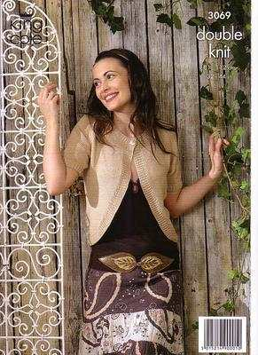 3069 Knitting Pattern - Ladie's Double Knit