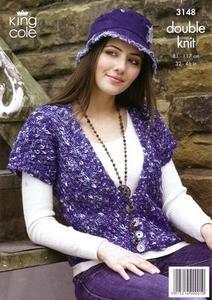 3148 Knitting Pattern - DK*