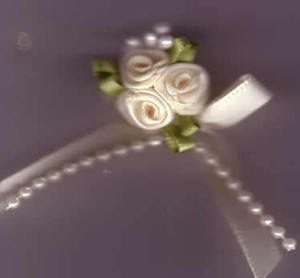 Trio Roses - Cream