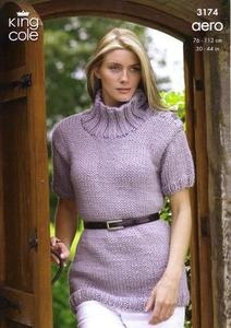 3174 Knitting Pattern - Ladie's Aero*