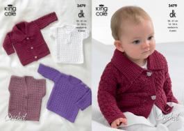 3479 Crochet Pattern - Double Knit 14-24
