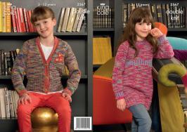 3567 Knitting Pattern DK - 3 - 13 Years