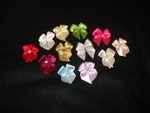 Small Ribbon Bows with pearl