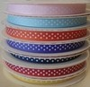 9mm Spotty Grosgrain Ribbon