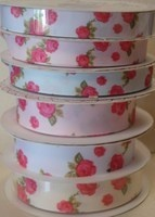 Floral Grosgrain Ribbon