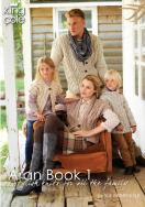 Aran Book 1 - King Cole Knitting Patterns by Sue Batley-Kyle NEW