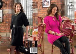 3586 Knitting Pattern DK - Ladies 30