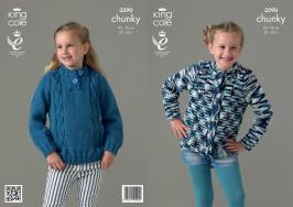 3590 Knitting Pattern Chunky - Childrens 22