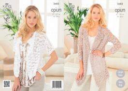 3682 Knitting Pattern Opium - Ladies 32