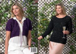 3635 Knitting Pattern - Ladies Double Knit 32