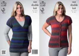 3668 Knitting Pattern - 32 - 46
