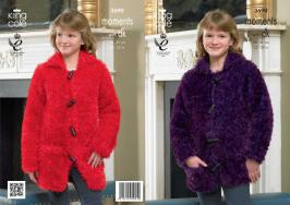"3690 Knitting Pattern Moments with DK - 22 - 32"" Girls*"