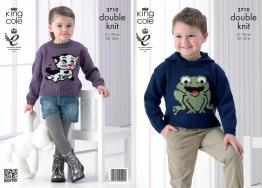 3710 Knitting Pattern Double Knit - Boys & Girls 20