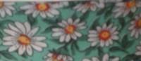 25mm Green Daisy Bias Binding - Fantasia 2330