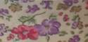 25mm Cream Floral Bias Binding - Fantasia 1181