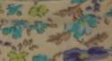 25mm Cream Floral Bias Binding - Fantasia 1177