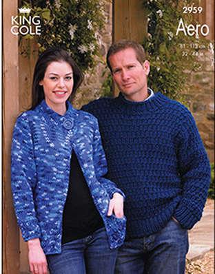 2959 Aero - Knitting Pattern Adults*