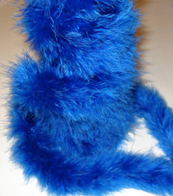 Royal Blue MB8 - Marabou