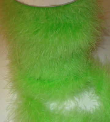 Lime Green MB14 - Marabou