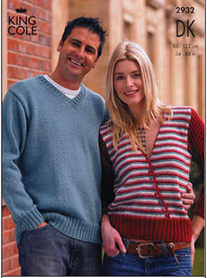 2932 DK - Knitting Pattern Adults*