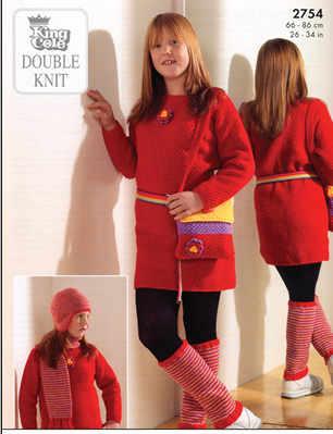 2754 DK  - Knitting Pattern*
