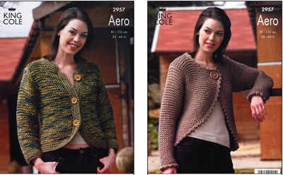 2957 Aero - Knitting Pattern Ladies*