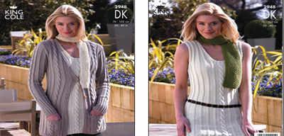 2948 DK - Knitting Pattern Ladies*