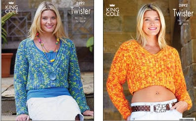 2892 Twister - Knitting Pattern*