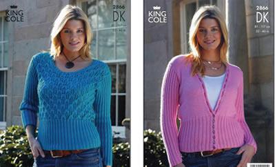 2866 DK - Knitting Pattern*