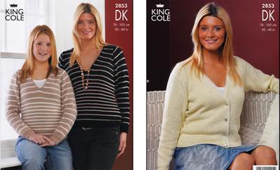 2853 DK - Knitting Pattern*