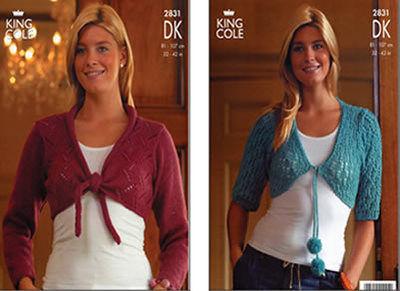 2831 DK - Knitting Pattern Ladies*