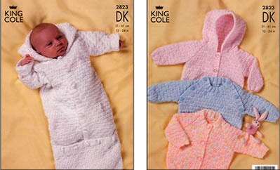 2823 DK - Knitting Pattern