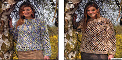 2814 MEGA - Knitting Pattern*