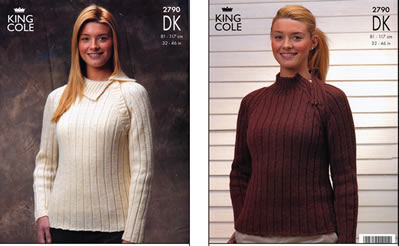 2790 DK - Knitting Pattern