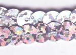 Strung Sequins - Silver Hologram SQ505