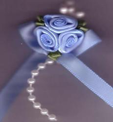 Trio Roses - Pale Blue