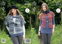 "3780 KNITTING PATTERN IN ULTIMATE - LADIES 30-40"" Easy Kniti*"