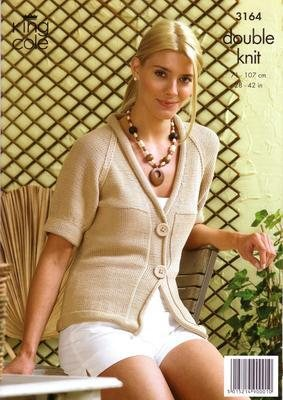 3164 Knitting Pattern - Double Knit - Bamboo Cotton