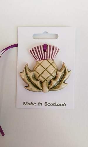 Thistle Single Ceramic Decoration