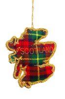 Scotland Tartan Map