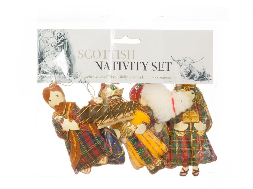 Scottish Nativity Set