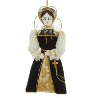 Mary Queen of Scots Tudor Christmas Ornament