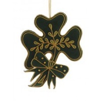 Felt Shamrock Irish Christmas Tree Decoration